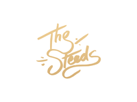 The Steeds lettering hand-drawn tombow brush pen personal gold