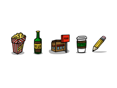 Instead Icons instead icons illustration hand-drawn
