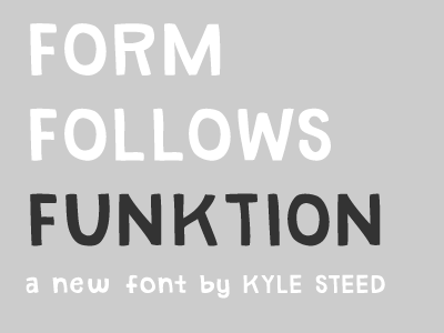 Form follows funktion dribbble