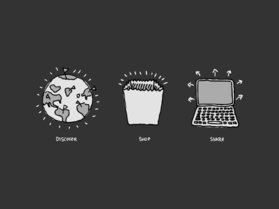 Dashboard Icons icons hand-drawn pure charity