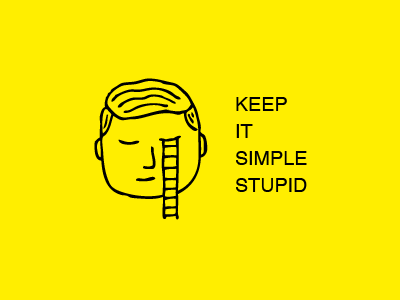 Keepin' it simple illustration simple circle meetups
