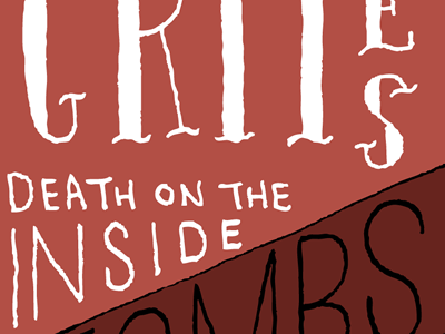 Death On The Inside oldnewproject lettering wip