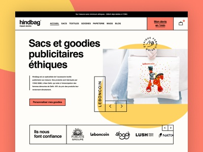 Tote bag eshop eshop design visual identity branding art direction ux ui