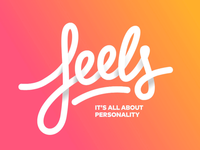 Feels Dating App visual branding