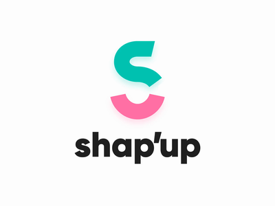 Shap'up Branding web design landing page ux ui visual identity animated logo art direction branding