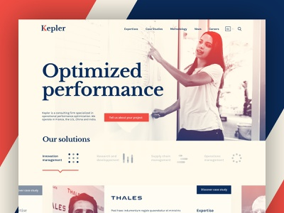 Consulting firm landing page web design typography vintage visual identity web design art direction branding logo ux ui