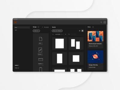 Adobe Illustrator Ui/Ux redesign
