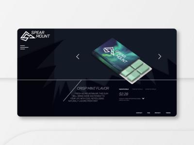 Spearmount Branding, Package Design, & E-commerce Website