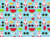 Watermelonday pattern ja watermelon day pattern
