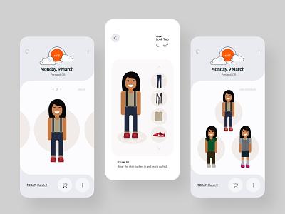 Explorations for Threadbare Product 2.0 brand x product product design mobile product illustration design ui