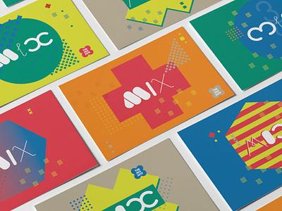 AIGA Portland / The Mix 2019 animation lettering illustrator illustration vector type logo typography design branding