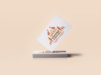 Circus Teabreaks illustration illustrator vector logo lettering branding design