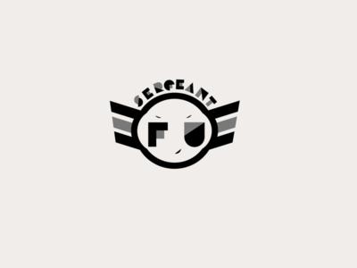 Logo application South African punk-rock band, Sergeant Fu.