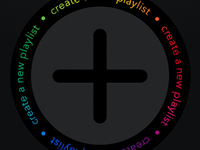 Create Your Playlist Screen