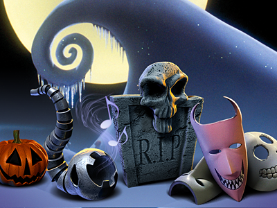 The Nightmare Before Christmas Icon Set: Group Shot Preview by The ...