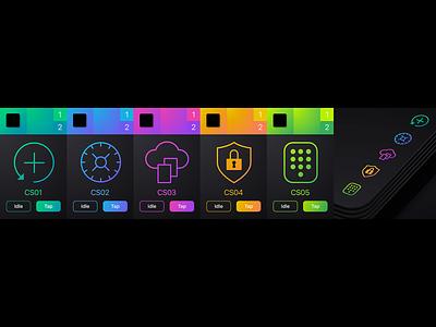 Patientory Color Palette colorpalette design navigation gui ux design user interface ui design ux user interface design ui