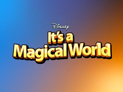 Disney Theme Brand Identity Design logo designer brand design brand designer brand identity disney art disney typography vector branding logo illustration design