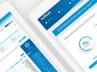 Brillium UX / UI Design
