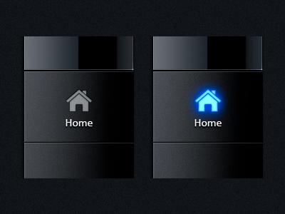 Taskbar Buttons the skins factory user interface ui design exopc touchscreen gui user interface design radio button check box blue