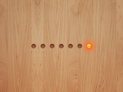 Pagination Circles with Active State - Zen Viewer for iPhone pagination the skins factory ui user interface iphone gui user interface design design files viewer icon touchscreen pulse effect wood