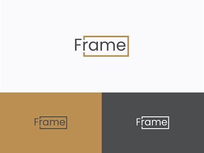 Frame Logo Design studio logo film logo media logo movie logo modern logo branding logo brand logo business logo wordmark lettermark letter logo letterlogo rectangular logo framelogo logodesign fraime logo fram logo frame logo