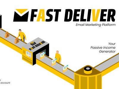 FastDeliver Revenue machine passive email marketing passive income