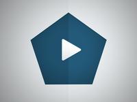 Power Polygon Logo