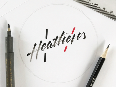 Heathens - twenty øne piløts clique heathens twenty one pilots calligraphy lettering