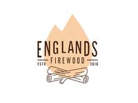 Firewood logo concept