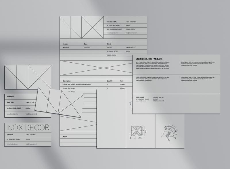 Visual Identity / INOX DECOR