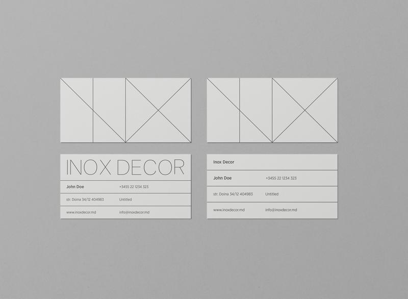 Business Cards / INOX DECOR