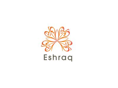 Eshraq - Bookstore Logo