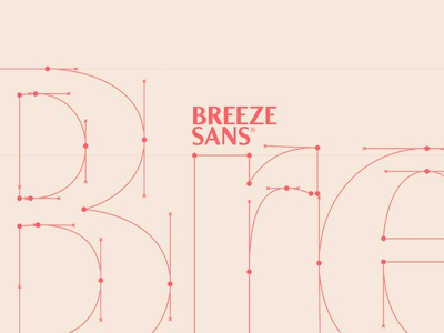 Breeze Sans typefaces type design letters typography type typedesign font typeface