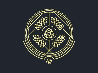 Hop & Malt / Beer label