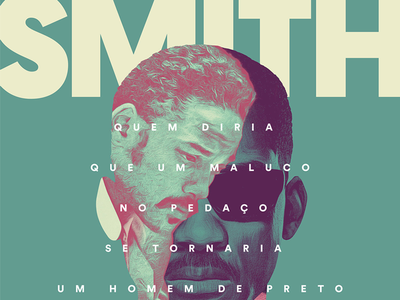 Will Smith color bold typography poster illustration will smith