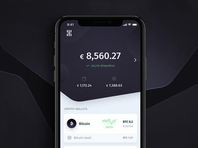 U•••••• crypto banking app