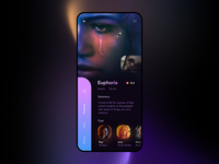 Euphoria app UI Concept