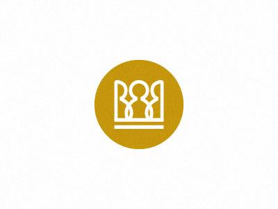 Brandowski 2 brand branding logo brandowski crown b letter communication yellow circle design designer