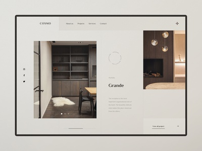 Cosmo - Hotel concept