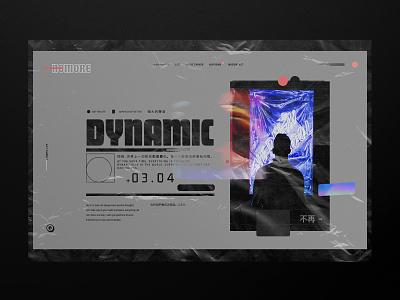 Futuristic Website - concept web minimalist typography concept ux ui website concept website design web design website design