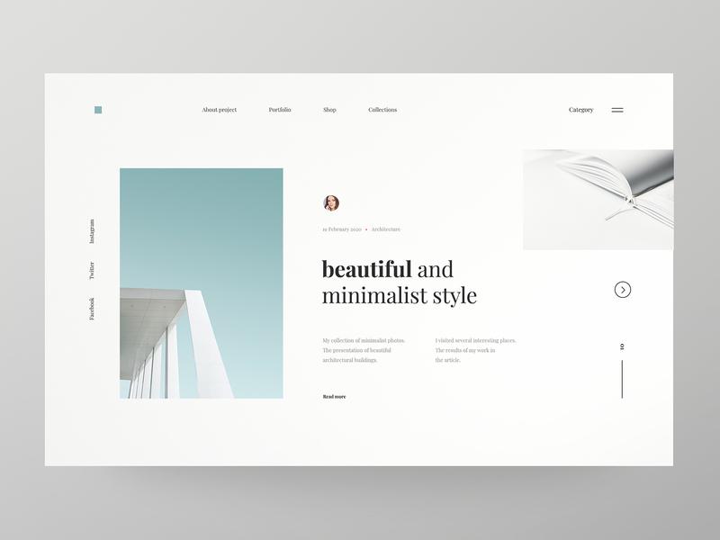 Minimalist Architecture - concept