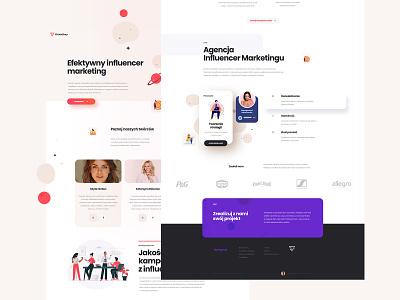 Website design and development for ClickInStory mobile mobile ui branding webdesign logo brand web design website ux ui minimalist design
