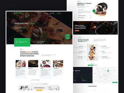 Bellako Spices - Web design uiuxdesign web ui typography landingpage spices webdesign web design website ux ui minimalist design