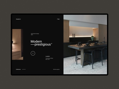 Designhunt - Website interior design concept rooms house home gallery house bathroom kitchen interior designer architect designer townhouse apartments room interior design minimalist webdesign web design concept website ux ui