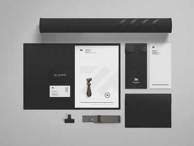 Zukowska Interior Design Branding #1