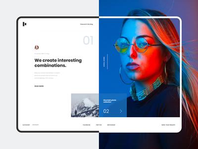 Blog Website Concept