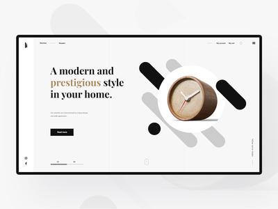 Interior Design Concept Shop