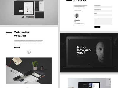 Thomsoon Minimalist Website typography branding blackandwhite semplice labs grid portfolio artist ux design web design animation minimalist video ui website