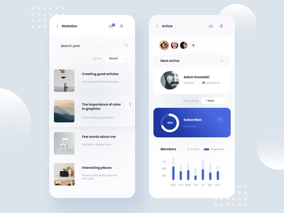 Dashboard - Admin Panel mobile