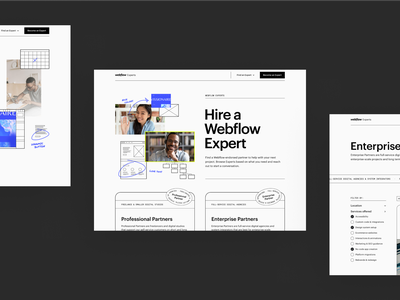 Webflow Experts — Design collaboration invoice minimal clean experts webflow experts web design webflow
